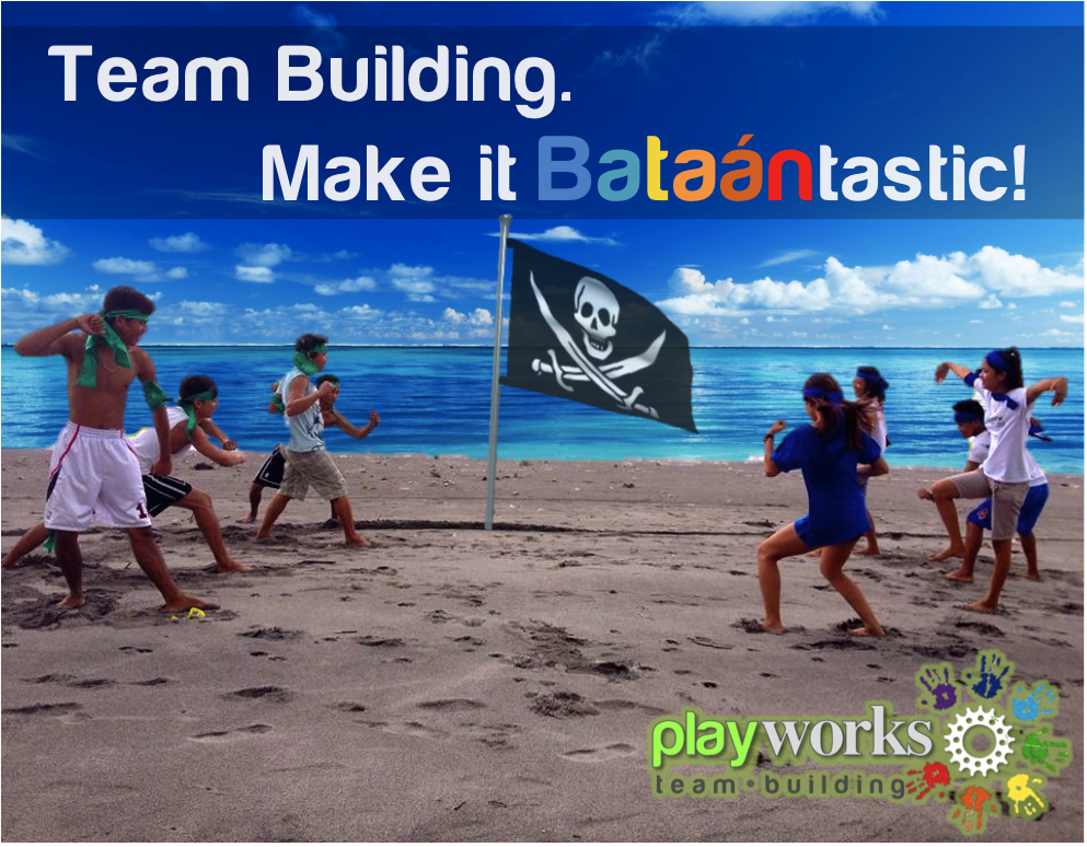 Team Building, make it Bataantastic!  Playworks